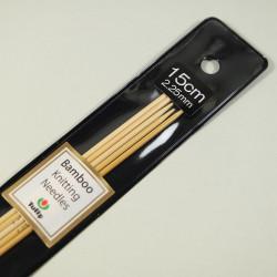 Tulip Nadelspiel Bambus 15cm 2,25mm