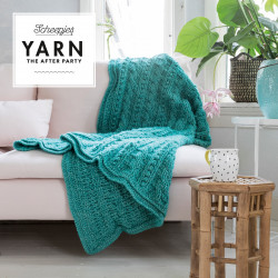Yarn - The After Party 24: Popcorn & Cables Blanket