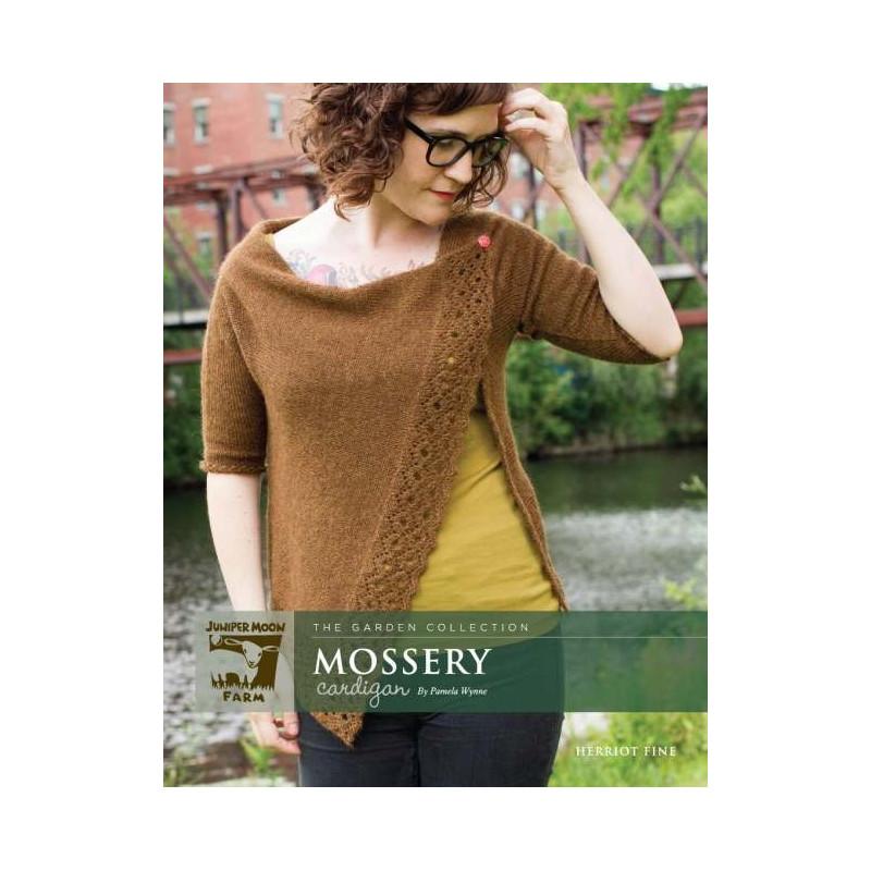Mossery Cardigan by Pamely Wynne PRINT