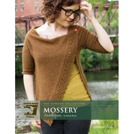 Mossery Cardigan by Pamela Wynne PRINT
