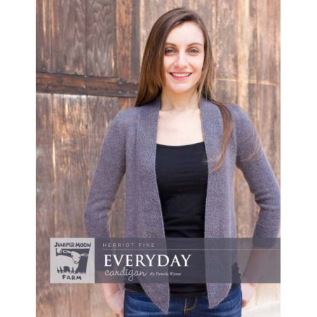 Everyday Cardigan by Pamela Wynne PRINT