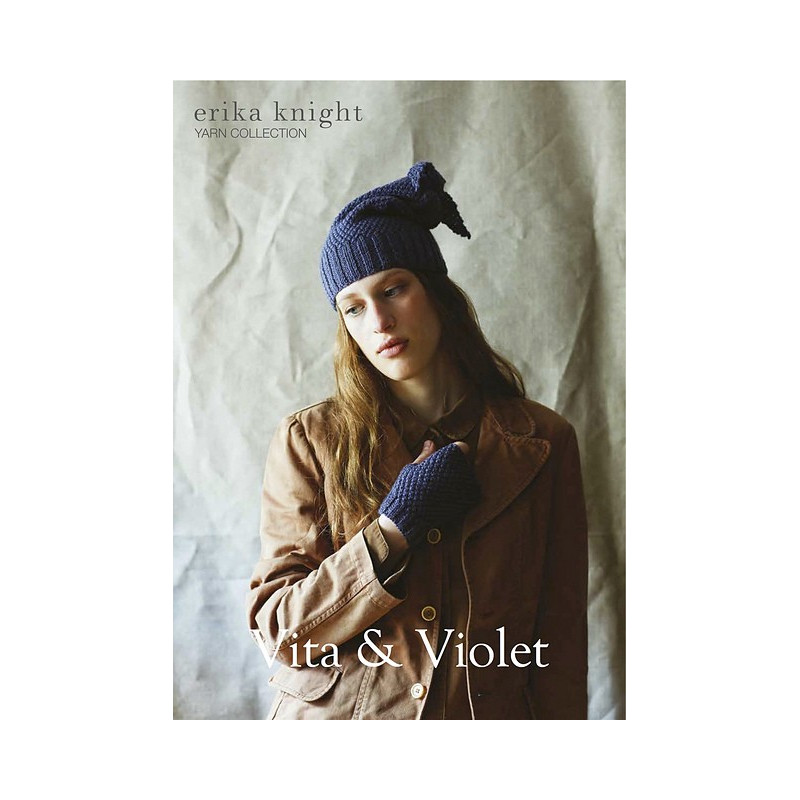 Vita & Violet by erika knight PRINT