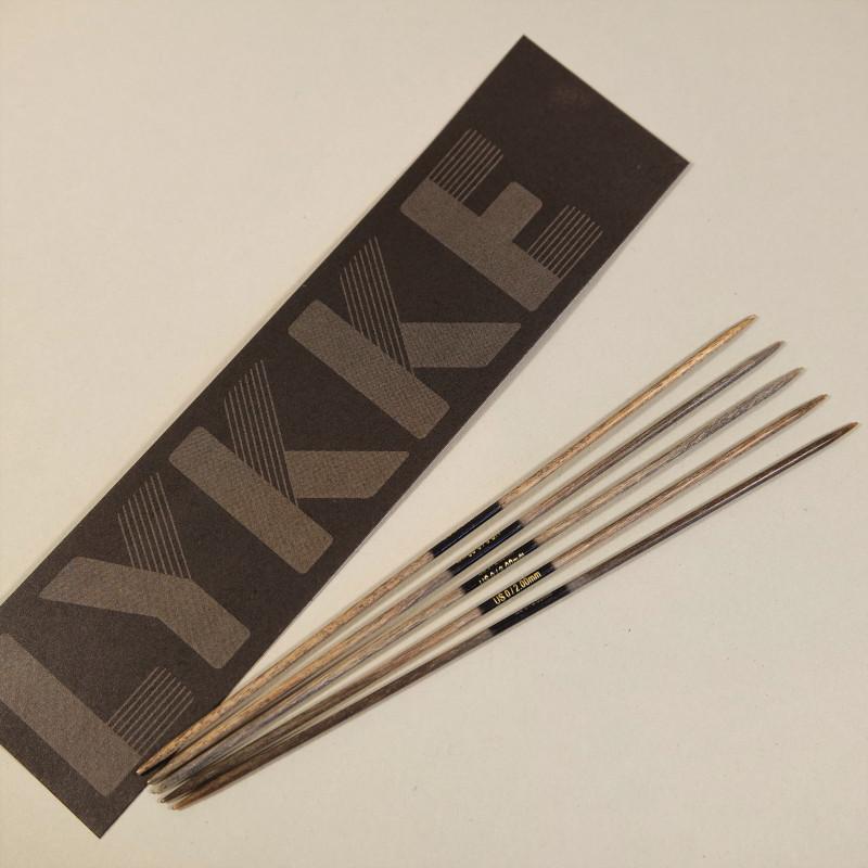 Lykke Nadelspiel Birkenholz 15cm 2,00mm
