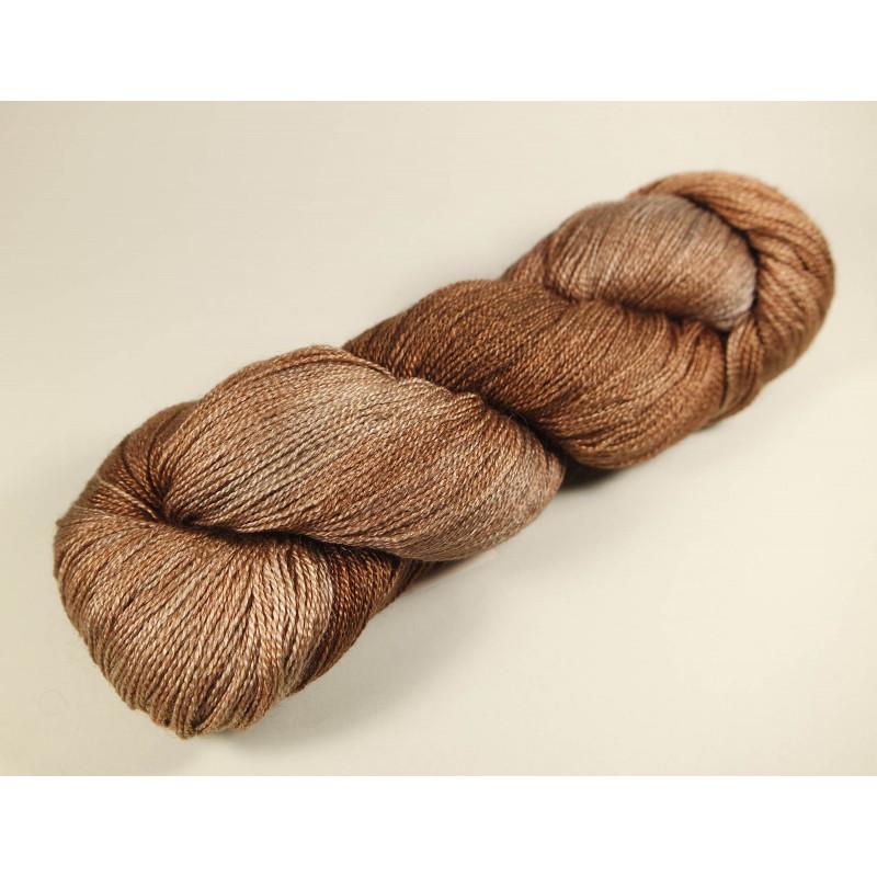 Fyberspates Gleem Lace Farbe: 702 Copper Tones