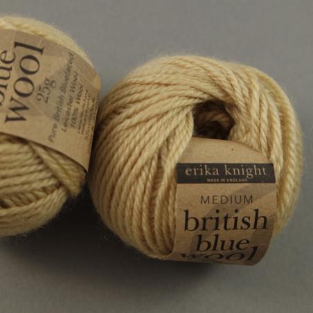 british blue wool Farbe: 107 - gift