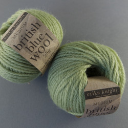 british blue wool - Farbe: 110 - leaf