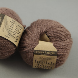 british blue wool - Farbe: 106 - milk chocolate