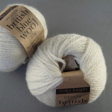 british blue wool - Farbe: 100 - milk