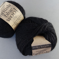 british blue wool - Farbe: 113 - pitch