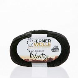 Ferner Wolle Vielseitige 210 - Farbe: V5 schwarz