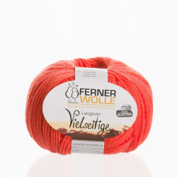 Ferner Wolle Vielseitige 210 - Farbe: V10 lachsrot