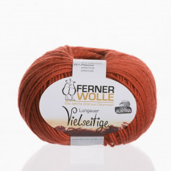 Ferner Wolle Vielseitige 210 - Farbe: V11 rost