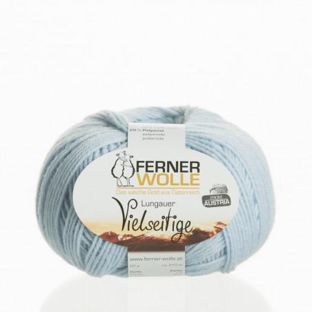 Ferner Wolle Vielseitige 210 - Farbe: V26 hellblau