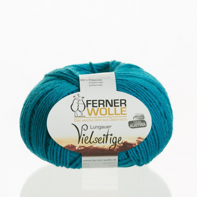 Ferner Wolle Vielseitige 210 - Farbe: V27 petrol