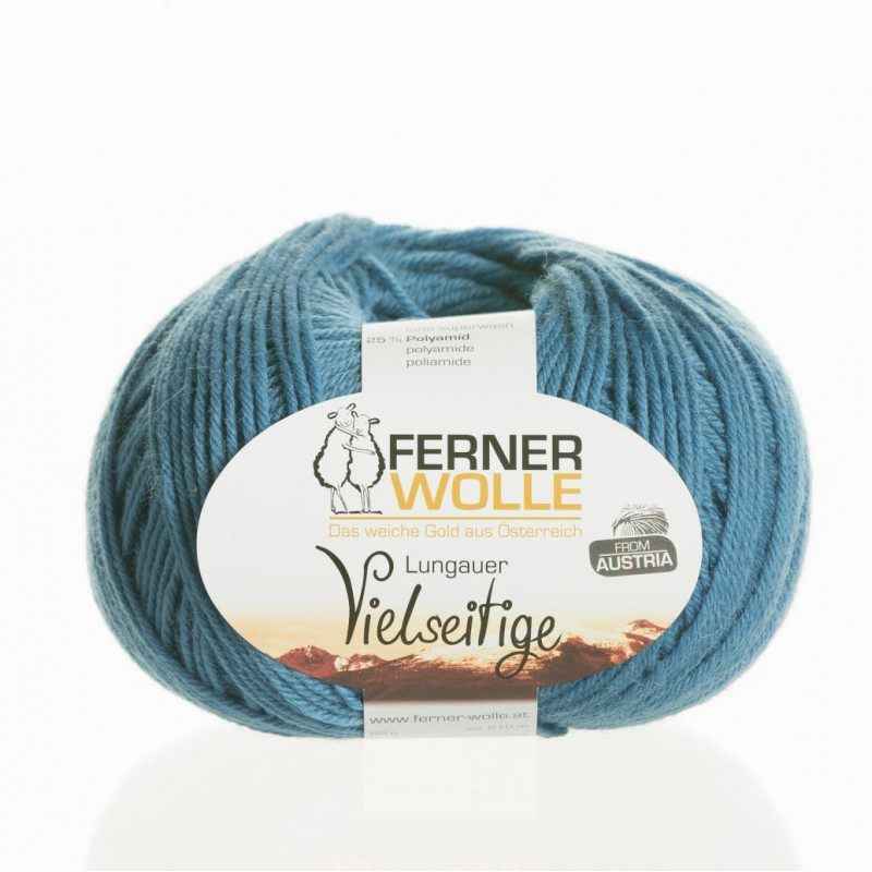 Ferner Wolle Vielseitige 210 - Farbe: V29 jeansblau