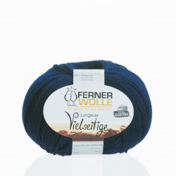 Ferner Wolle Vielseitige 210 - Farbe: V31 nachtblau