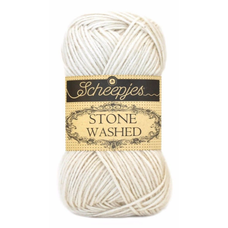 Scheepjes Stone Washed - Farbe: 801Moon Stone