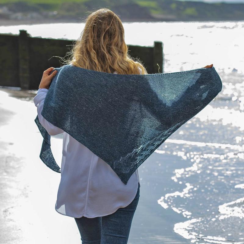 Strickanleitung Tuch Irish Sea PRINT by Susanna Winter