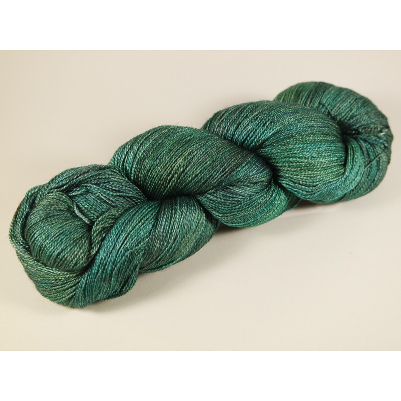 Fyberspates Gleem Lace Farbe: 705 Deep Forest