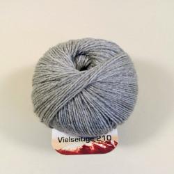 Ferner Wolle Vielseitige 210 - Farbe: V36 grau melange