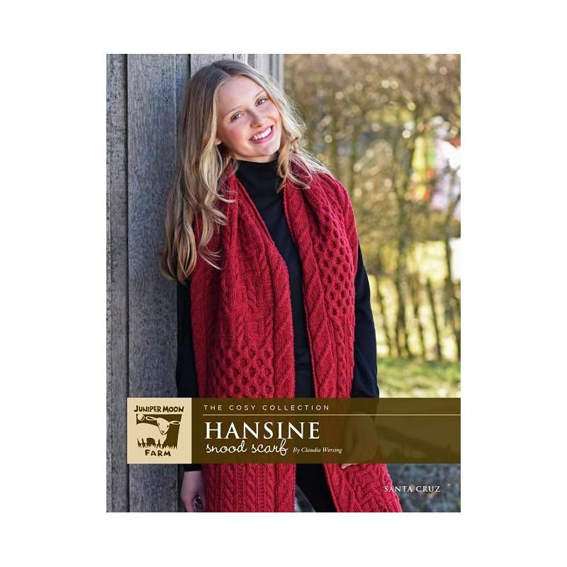Strickanleitung Hansine Snood Scarf PRINT by Claudia Wersing