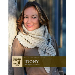 Strickanleitung Idony Wrap PRINT by Claudia Wersing