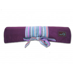 Della Q Double Point Roll Seide violett