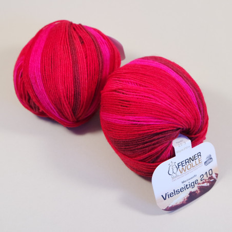 Ferner Wolle Vielseitige 210 bunt - Farbe: V314-19