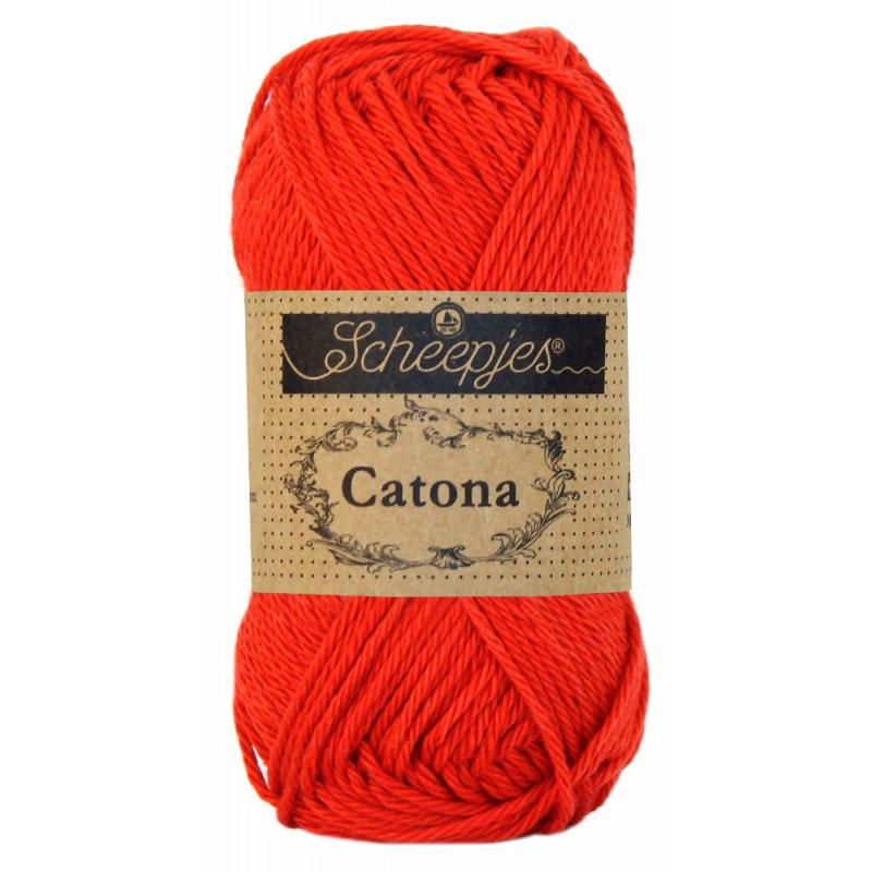 Scheepjes Catona 25 - Fb: 115 Hot Red