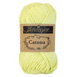 Scheepjes Catona 25 - Fb: 101 Lemon Chiffon