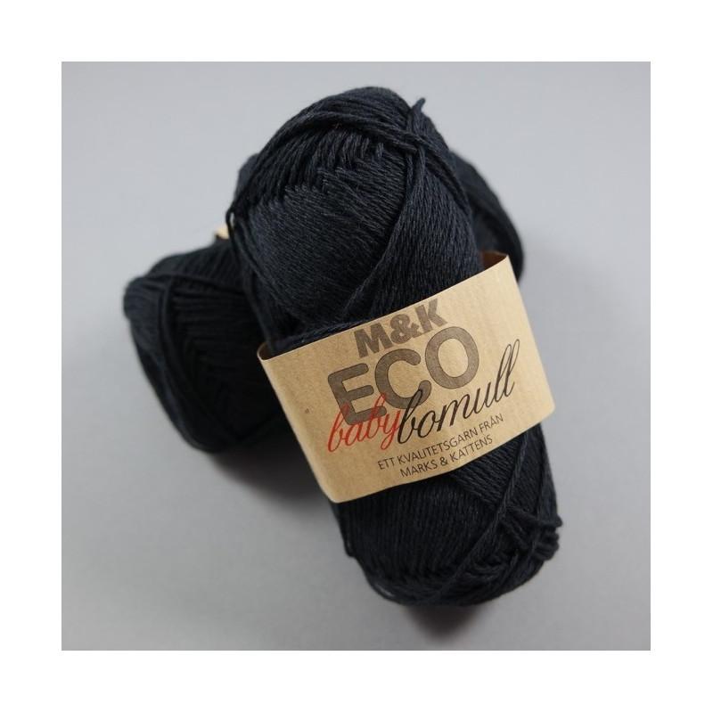 M&K Bio Baby Baumwolle - Fb: 900 Schwarz