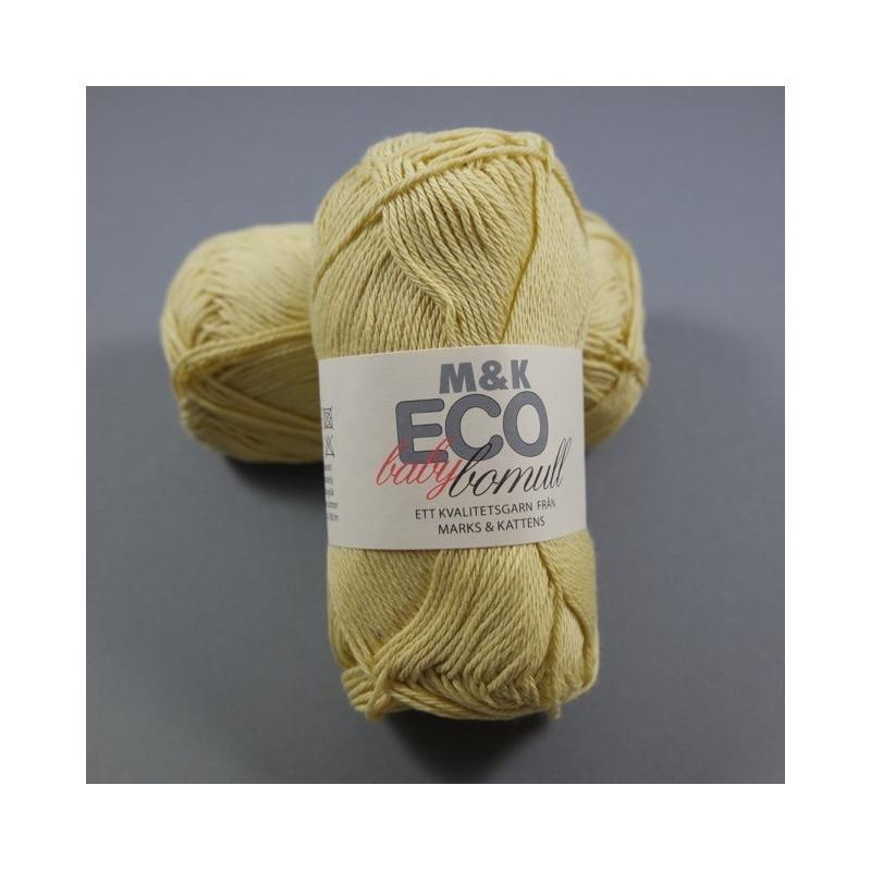 M&K Eco Baby Bomull - Fb: 907 Gelb