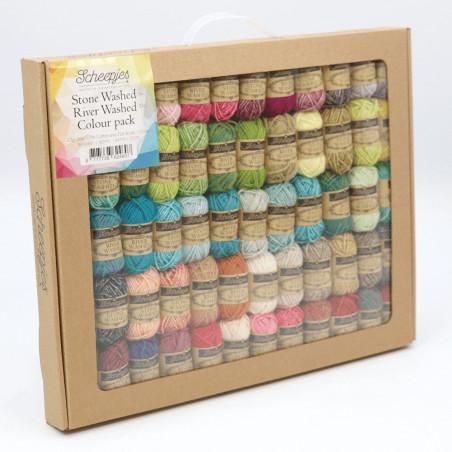 Scheepjes StoneWashed-RiverWashed Colour Pack