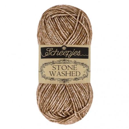 Scheepjes Stone Washed - Farbe: 822 Brown Agate