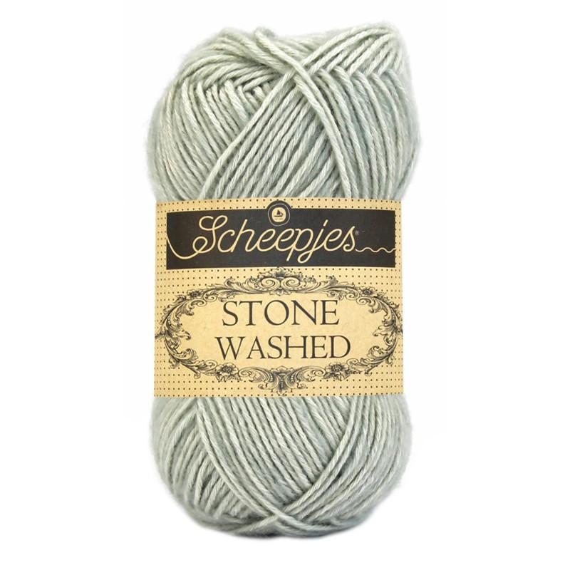 Scheepjes Stone Washed - Farbe: 814 Crystal Quartz