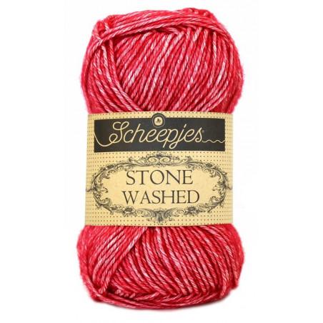 Scheepjes Stone Washed - Farbe: 807 Red Jasper