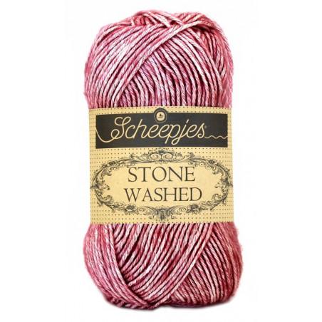 Scheepjes Stone Washed - Farbe: 808 Corundum Ruby
