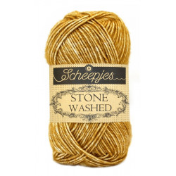 Scheepjes Stone Washed - Farbe: 809 Yellow Jasper