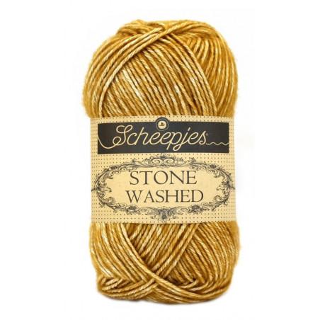 Scheepjes Stone Washed - Farbe: 809 Yellow Jasper