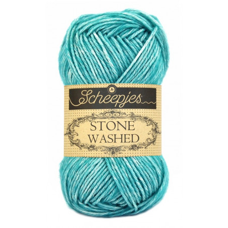 Scheepjes Stone Washed - Farbe: 815 Green Agate