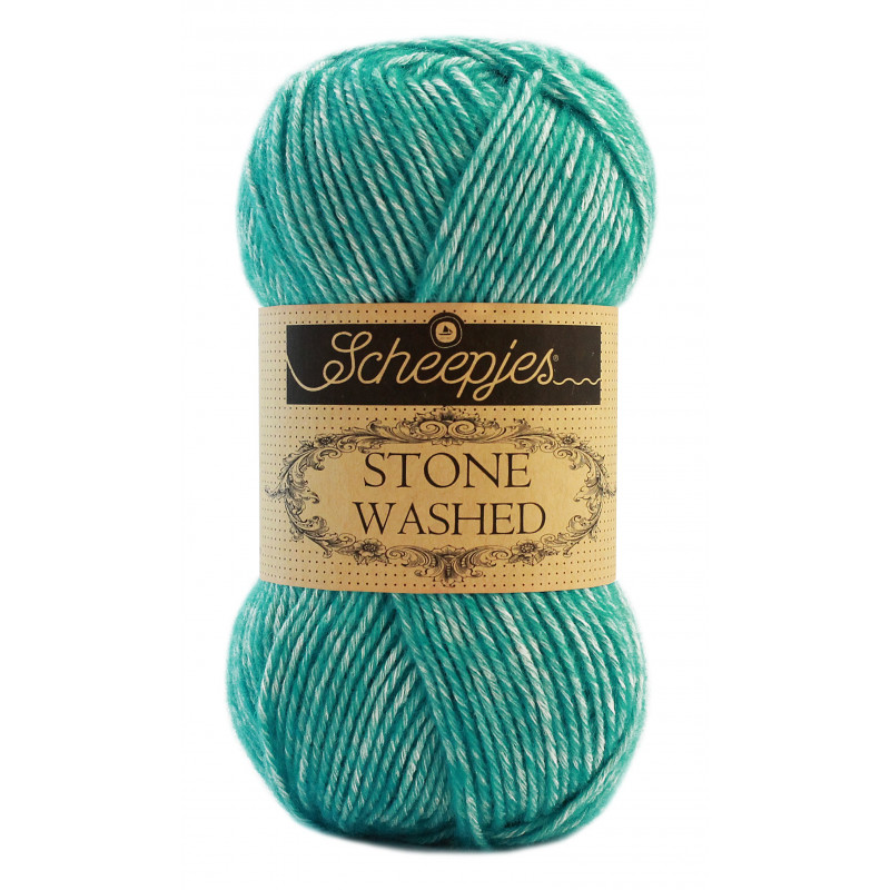 Scheepjes Stone Washed - Farbe: 824 Turquoise