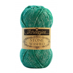 Scheepjes Stone Washed - Farbe: 825 Malachite