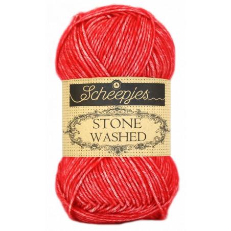 Scheepjes Stone Washed - Farbe: 823 Carnelian