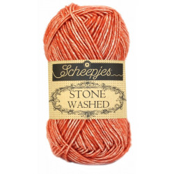 Scheepjes Stone Washed - Farbe: 816 Coral