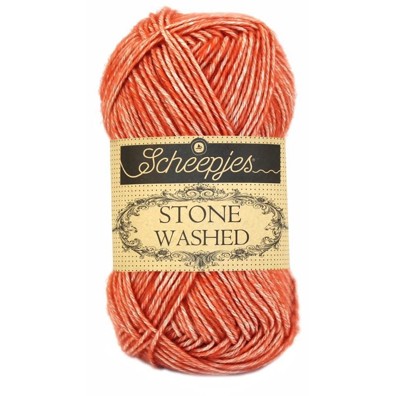 Scheepjes Stone Washed - Farbe: 816 Coral
