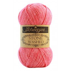 Scheepjes Stone Washed - Farbe: 835 Rhodochrosite