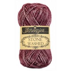Scheepjes Stone Washed - Farbe: 810 Garnet