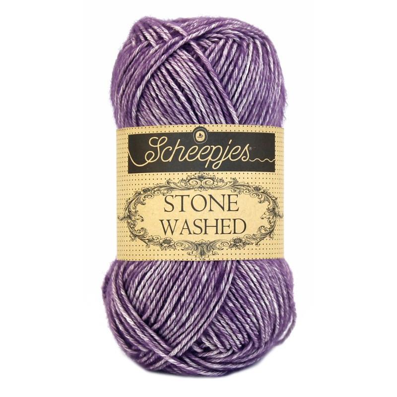 Scheepjes Stone Washed - Farbe: 811 Deep Amethyst
