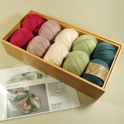 Strickpaket Schal Brighton - Fb: Isa