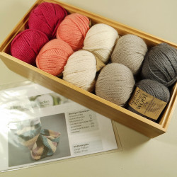 Strickpaket Schal Brighton - Fb: Sue
